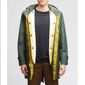 Bonobos Synthetic The Fishtail Parka Jacket Green